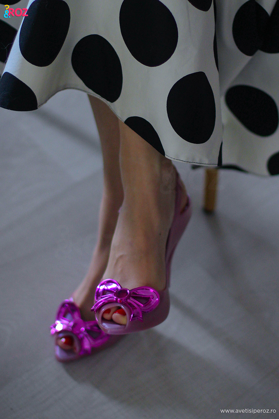 pink melissa shoes by vivienne westwood