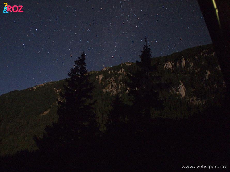 cer-cu-stele-la-munte
