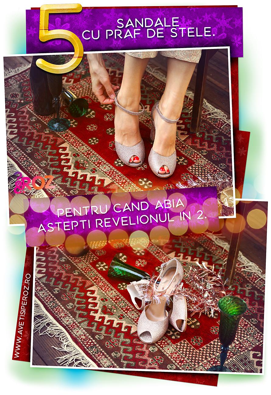 pantofi pentru revelion