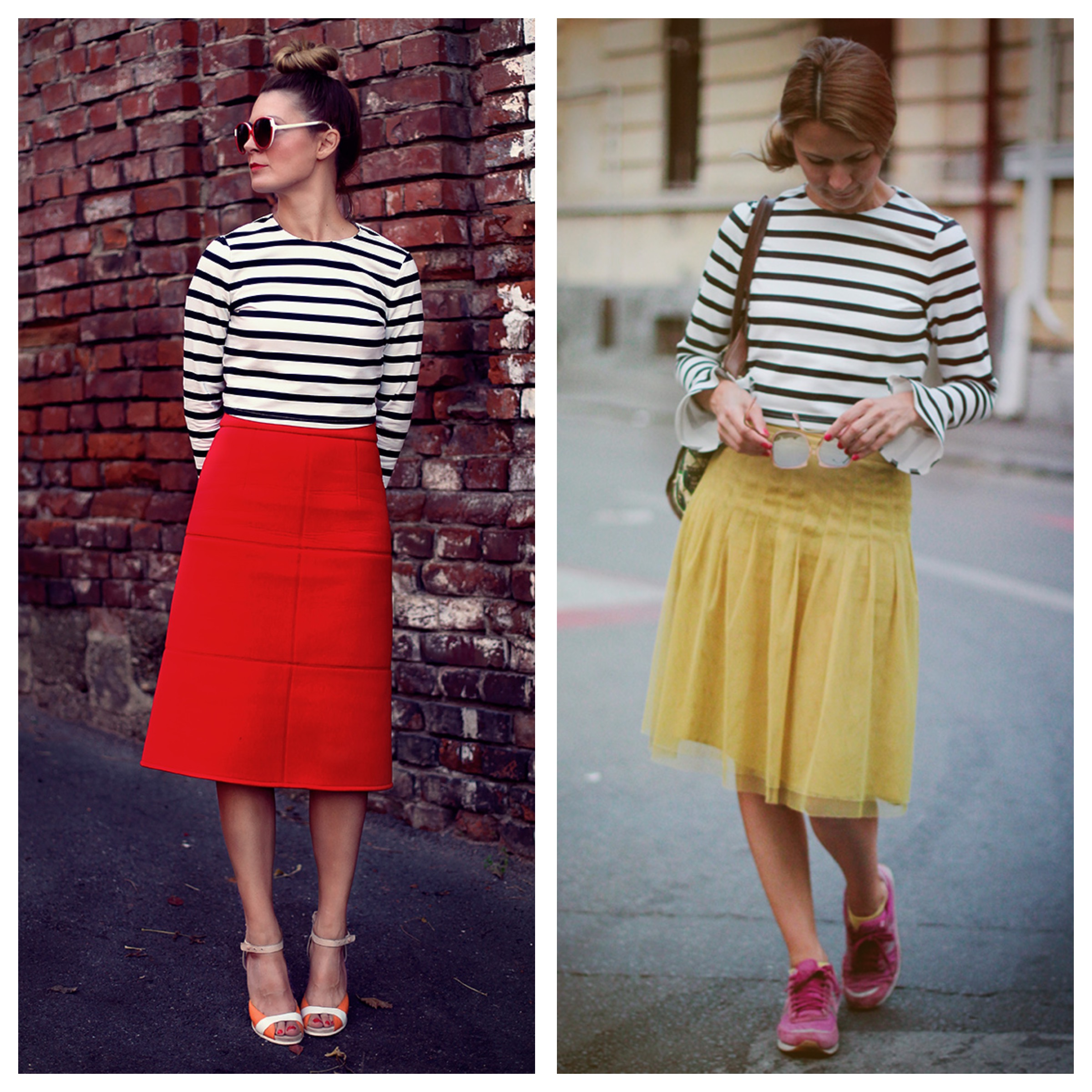 tinute cu dungi blog fashion