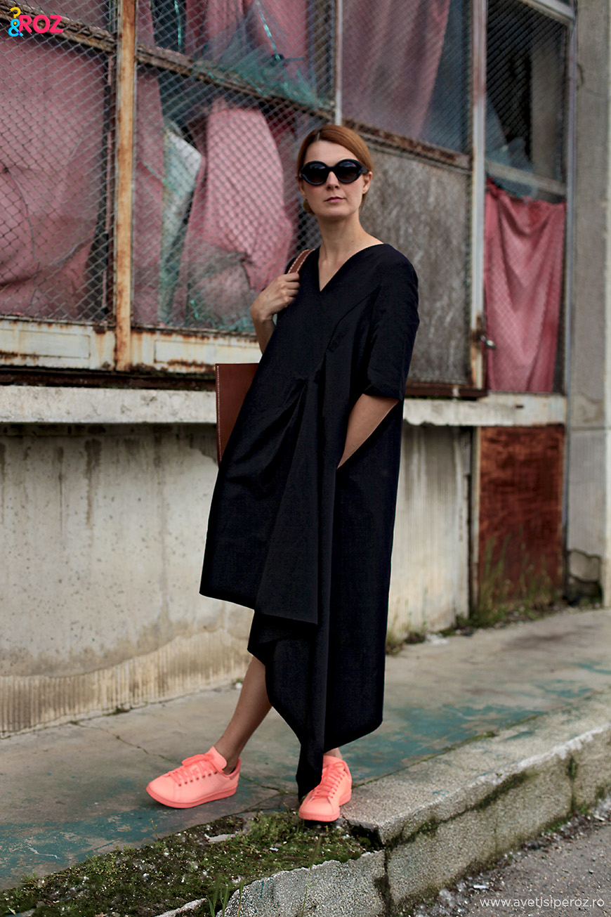 asymmetric cos dress