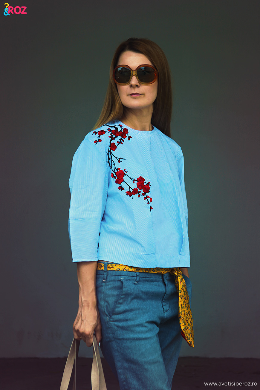 bluza alchymi cu flori