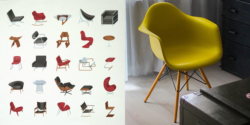 scaun-eames-original