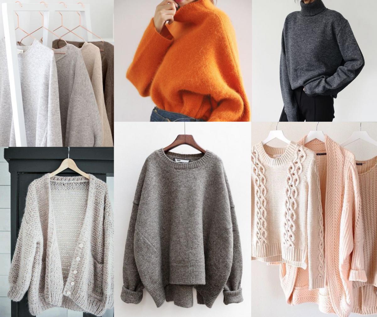 garderoba capsula idei pulovere