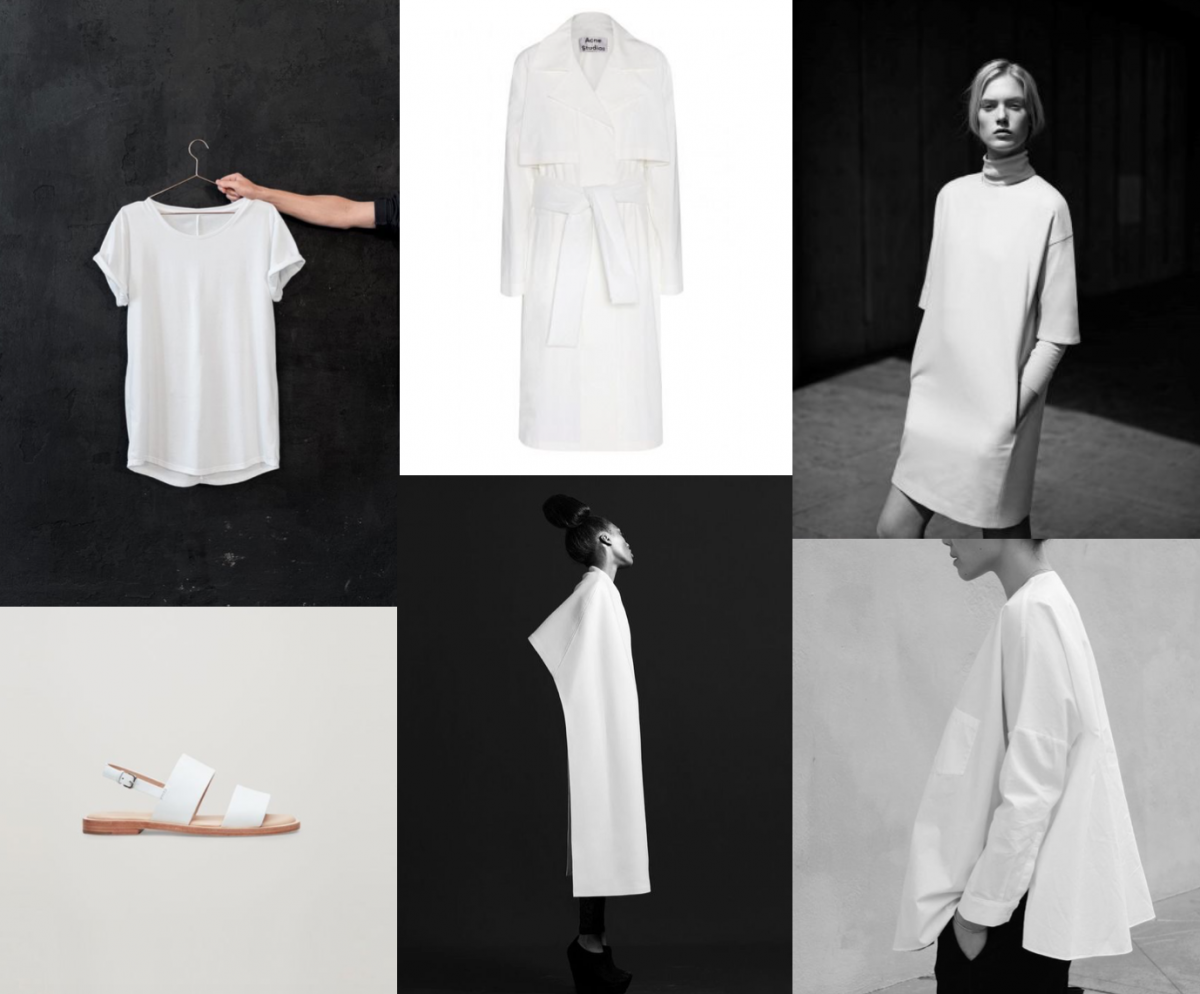 white favorites items