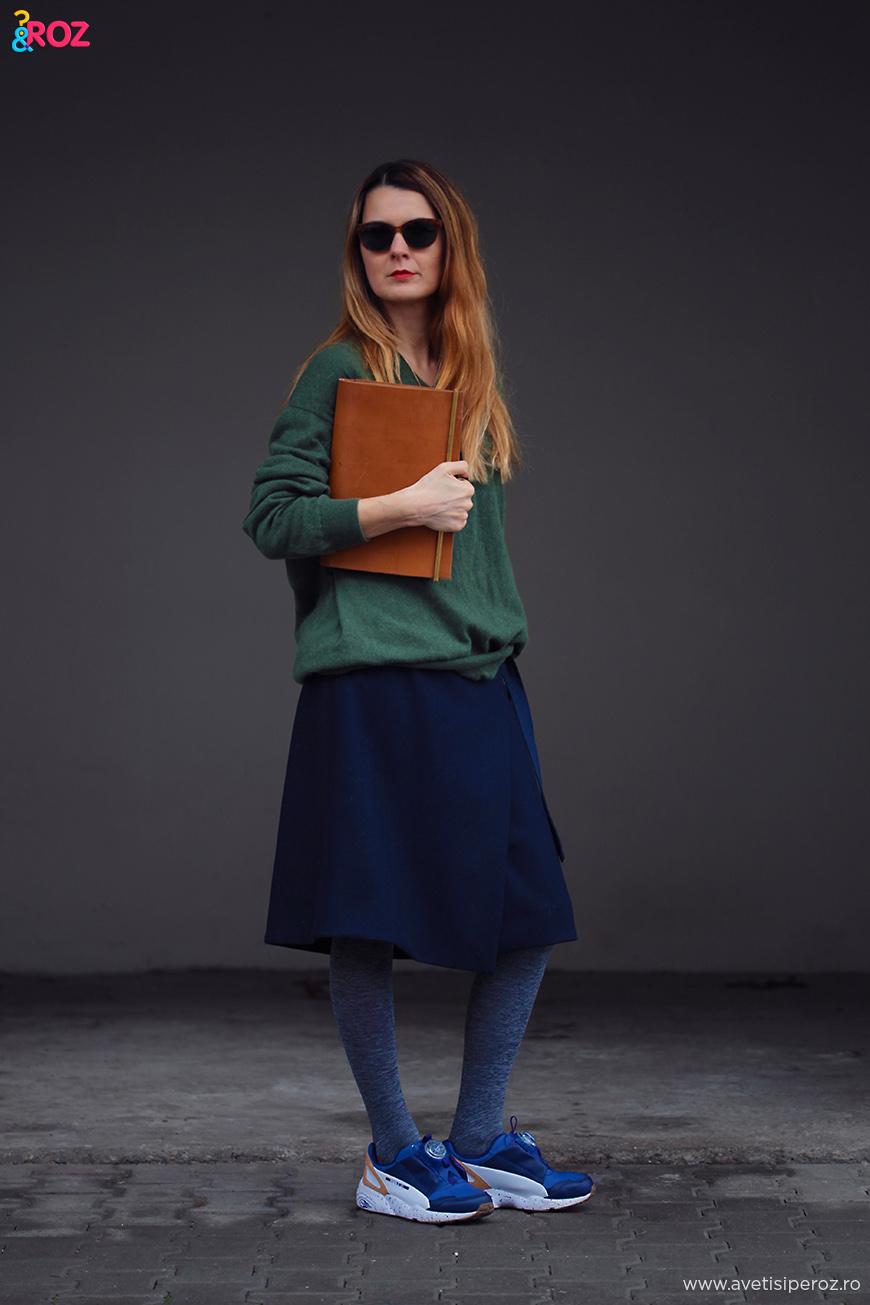 pulover casmir si fusta cos