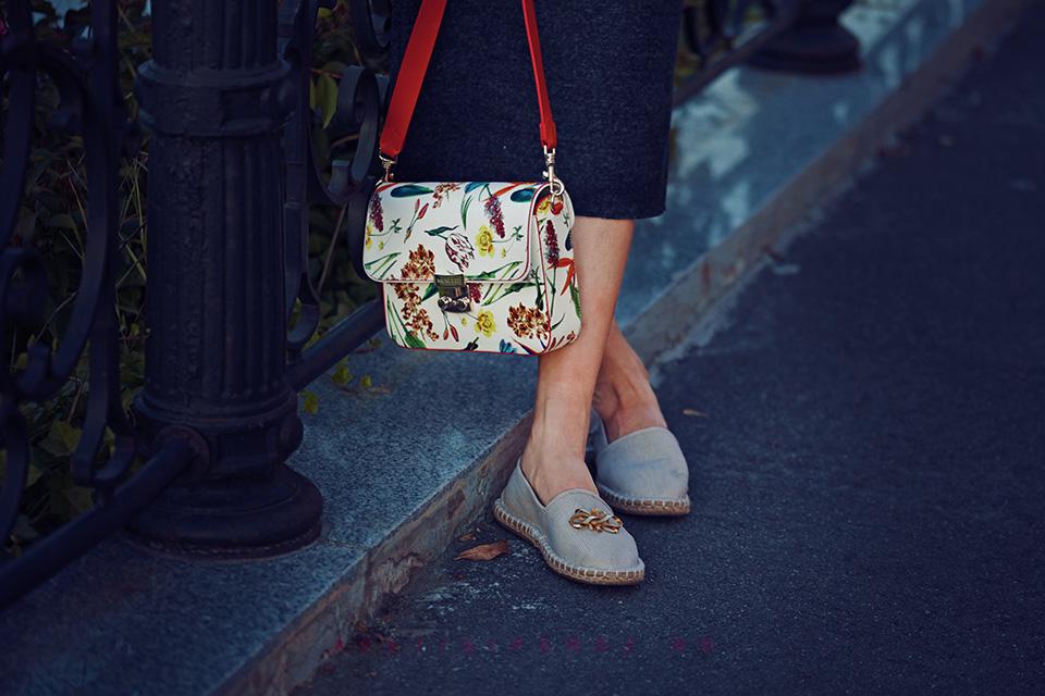 geanta cu flori musette