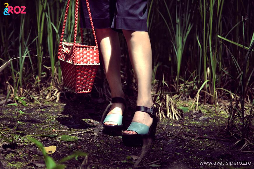 sandale marni si geanta retro