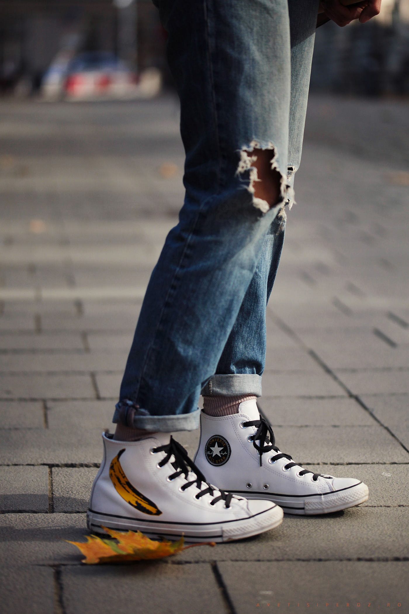 jeans and warhol converse