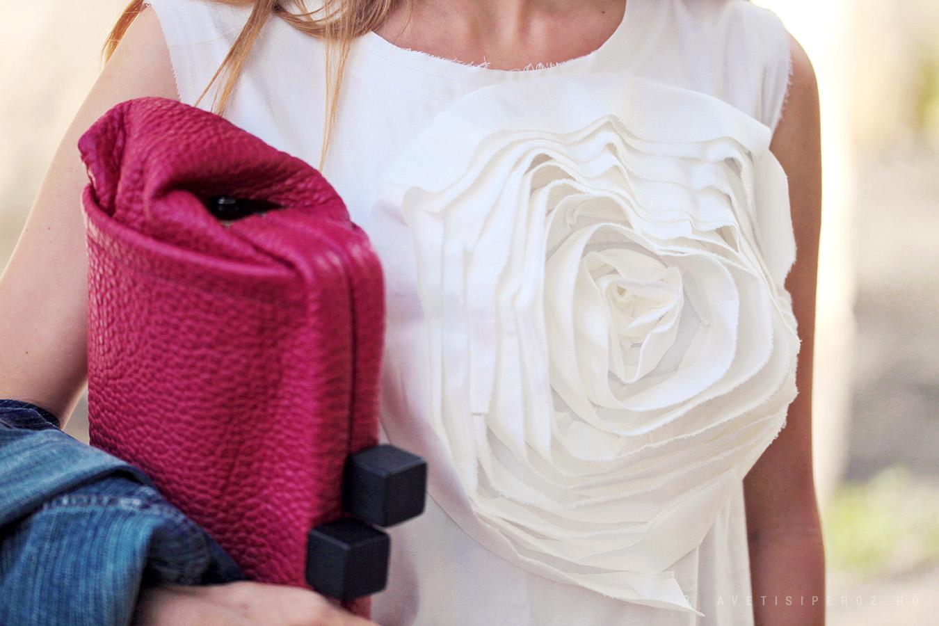 rochie cu floare rad playground
