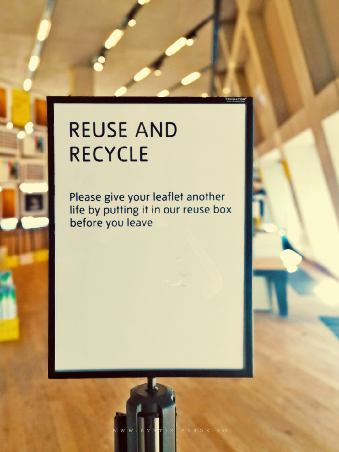reuse and recycle tate museum