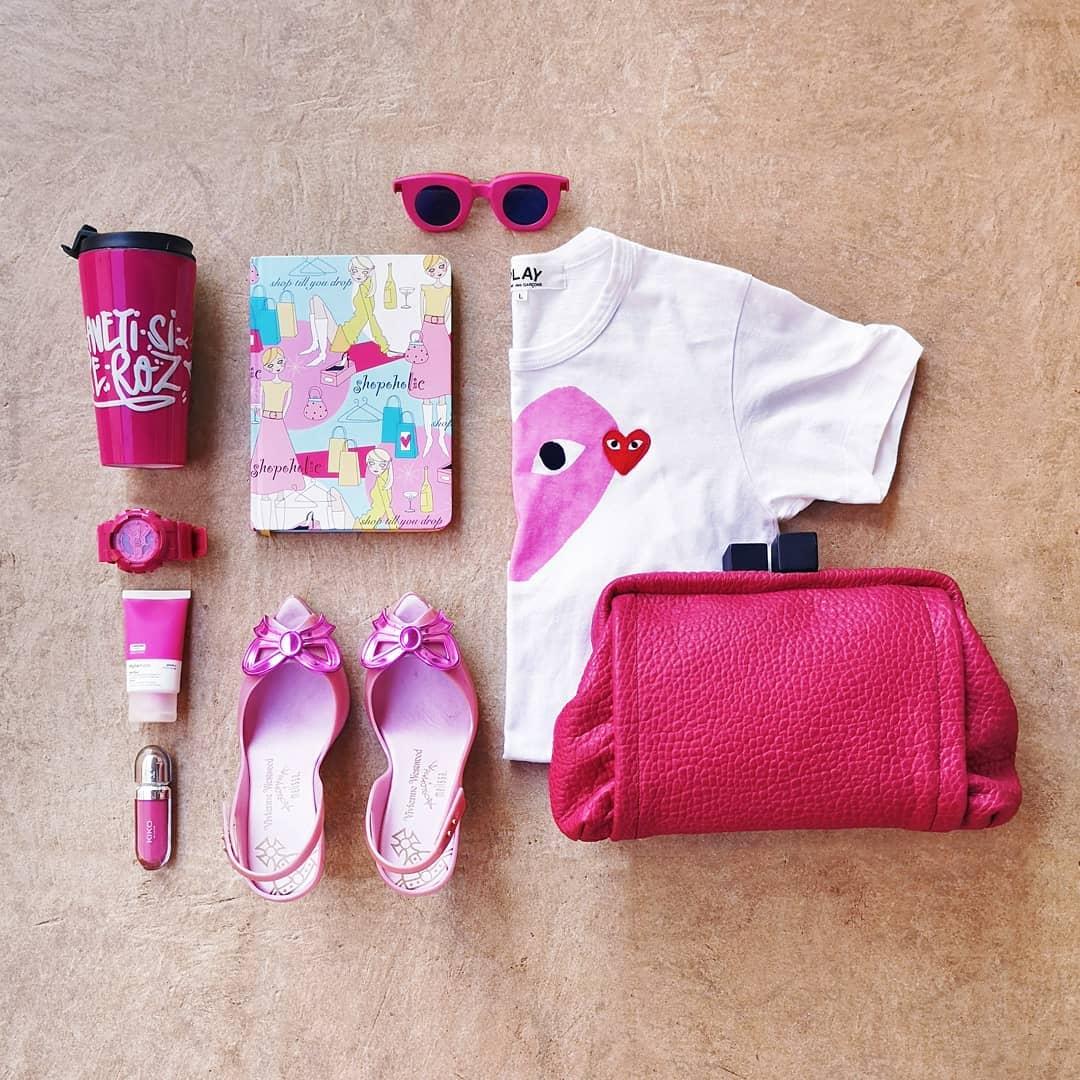 obiecte roz