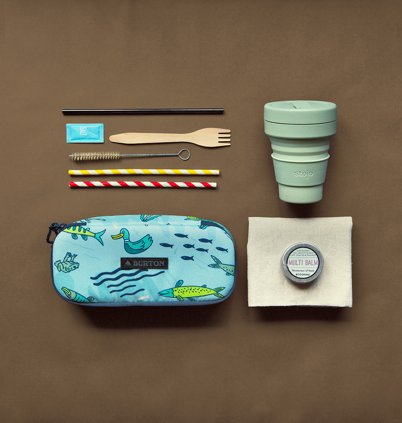 obiecte sustenabile de luat cu tine