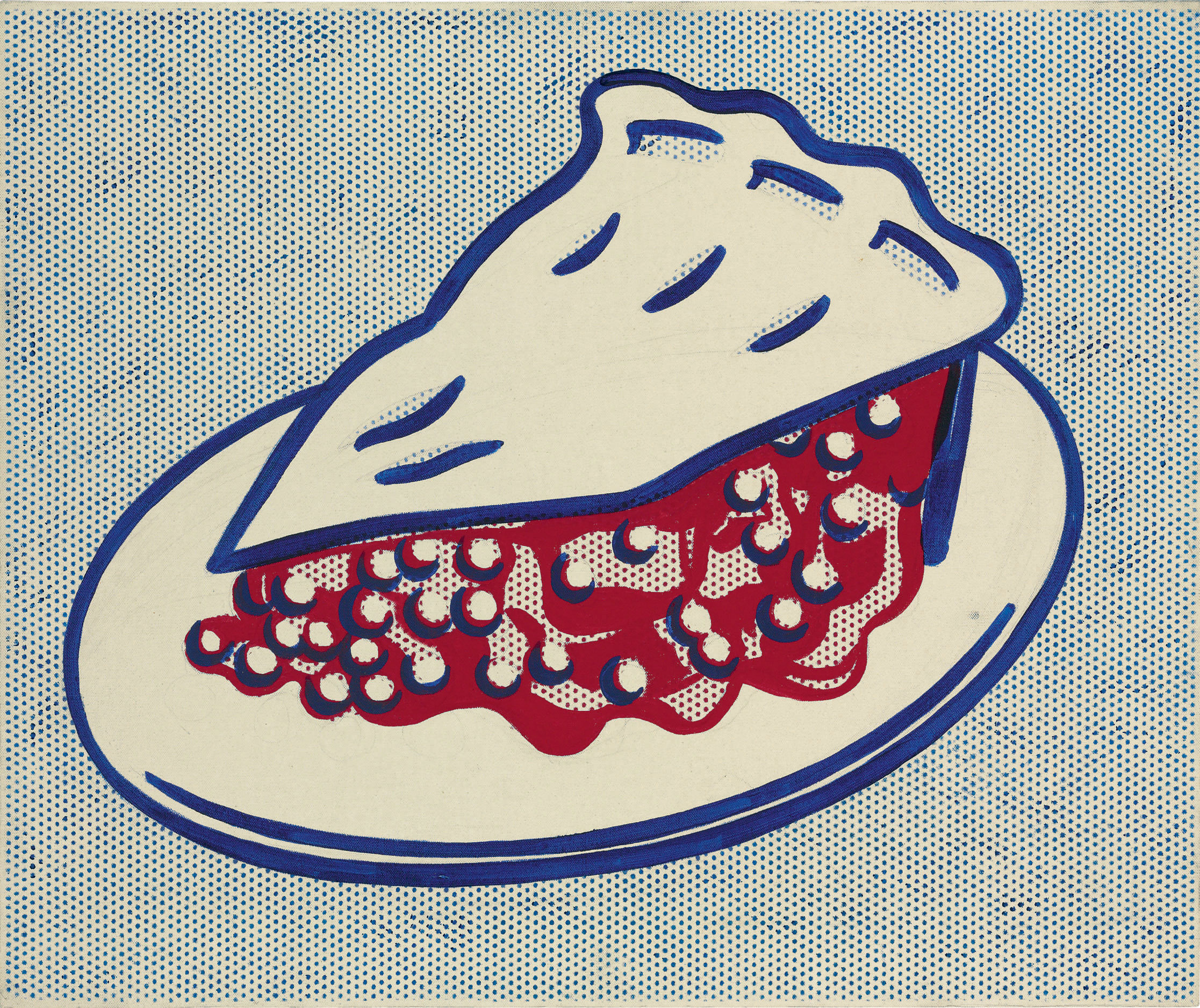 roy lichtenstein cherry pie