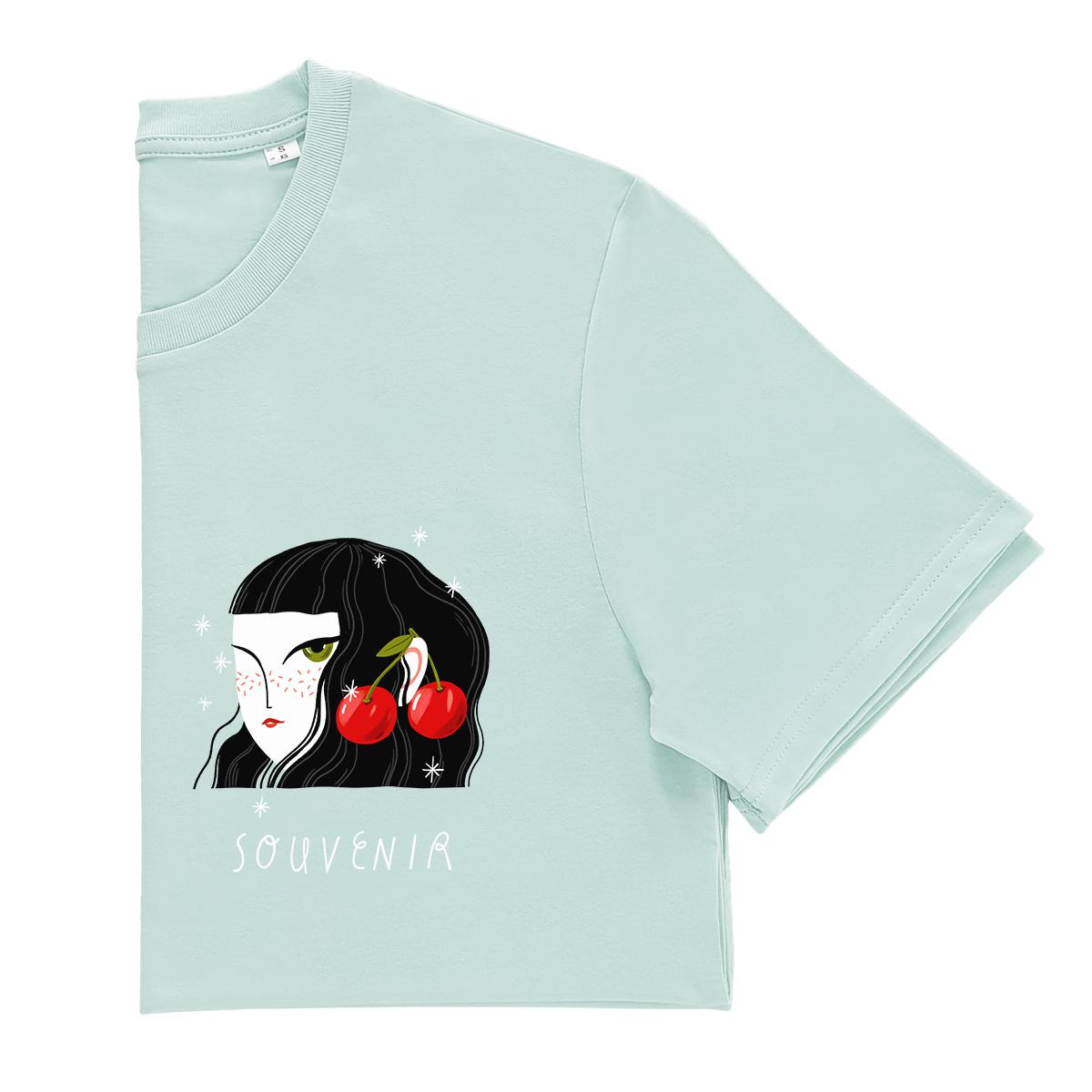 tricou cu cirese madalina andronic