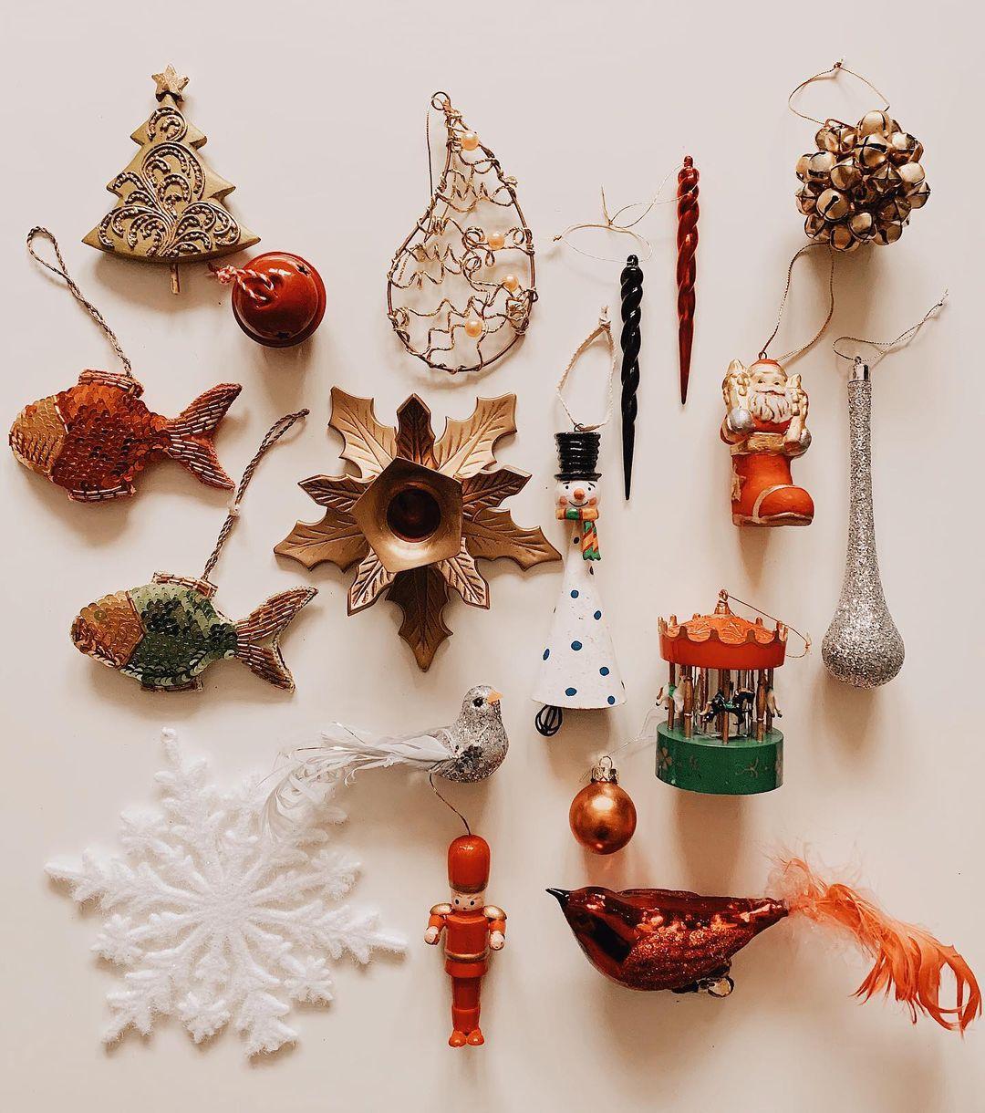 ornamente vintage de brad