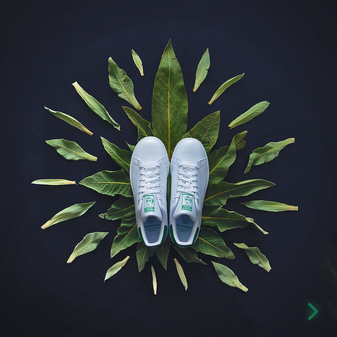 adidas stan smith recycled materials