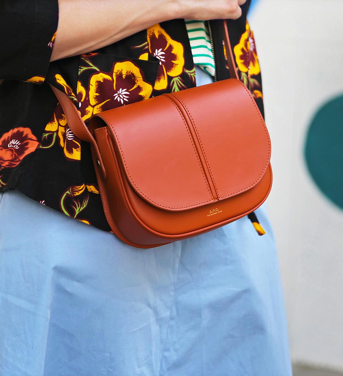 apc betty bag and santa cruz poppy jacket