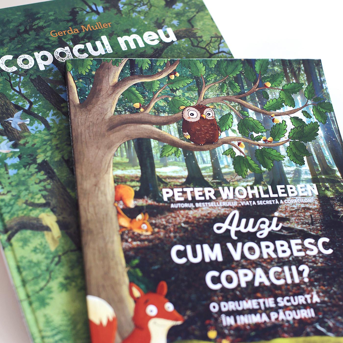 carti despre copaci