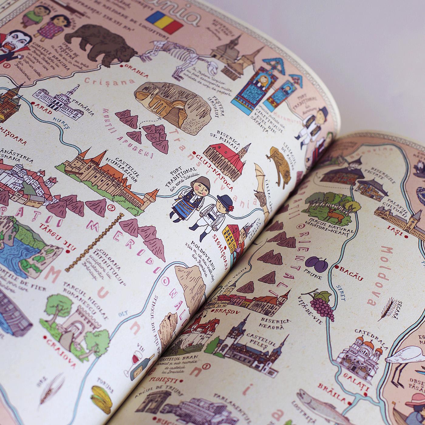 interior cartea harti
